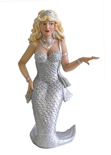 December Diamonds Zirconia Mermaid Ornament