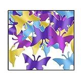 Fanci-Fetti Butterflies (C/GD/LB/PL) Party Accessory  (1 count) (1 Oz/Pkg)