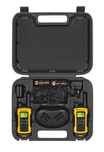 Motorola TLKR T80 Extreme PMR Funkgerät nach IPx4 (wetterfest, Reichweite bis zu 10 km)