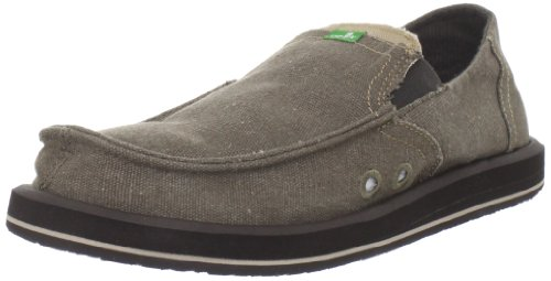 Mens Da Uomo Sanuk Slip On Brown