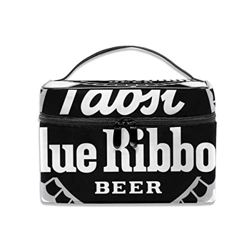 Black Pabst Blue Ribbon Logo CLX Fashion Cosmetic Bag for sale  Delivered anywhere in USA