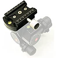 Hejnar Photo Arca Type Conversion Set for Manfrotto 410 Gear Head - Made in U.S.A