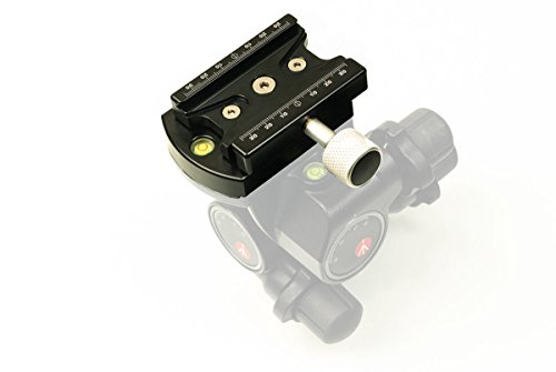 Hejnar Photo Arca Type Conversion Set for Manfrotto 410 Gear Head - Made in U.S.A by Hejnar Photo