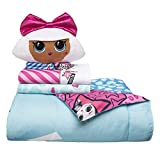 L.O.L. Surprise! Soft Microfiber Comforter, Sheets Plush Cuddle Pillow Deal (Small Image)