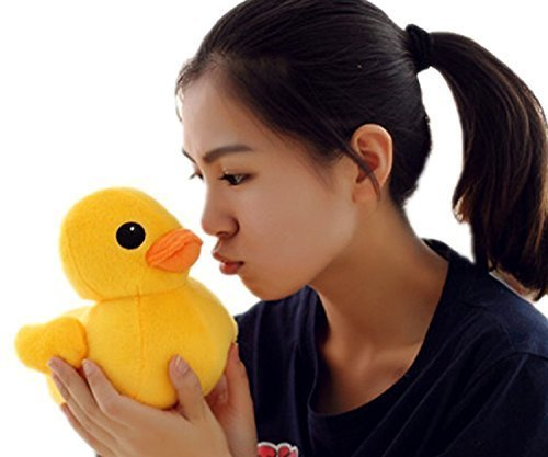 20cm(8″) Giant Yellow Duck Stuffed Animal Plush Soft Toys Cute Doll ...