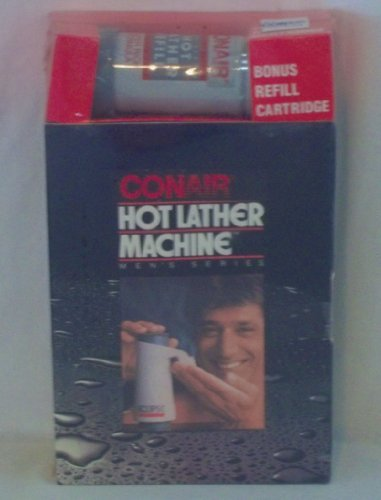 Vintage 1970s Joe Namath CONAIR ECLIPSE Hot Lather Machine + Bonus