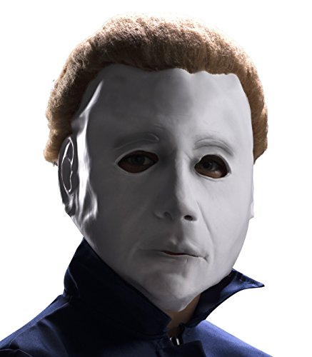 Scariest Michael Myers Mask (Child Halloween Michael Myers Mask with Wig by Rubie's)