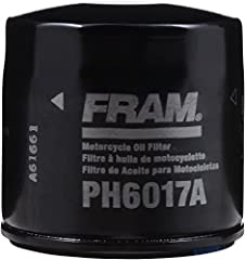 FRAM Extra Guard Oil Filters feature proven protection for up to 5,000 miles and are engineered for use with conventional oil. With an ideal balance of dirt-trapping efficiency and dirt-holding capacity, FRAM Extra Guard oil filters use a spe...