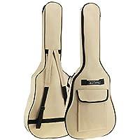 Origlam Funda para guitarra acústica de 40/41 pulgadas, funda impermeable para guitarra, mochila suave para guitarra…