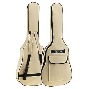 Origlam 40/41 Zoll Akustische Gitarre Gigbag Wasserdicht Gitarrentasche Weiche Gitarre Rucksack Gepolsterter Dual…