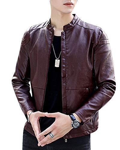 De Slim Largas Abrigo Hombre Cremallera Jacket Outwear Cierre Mangas qUXxwA