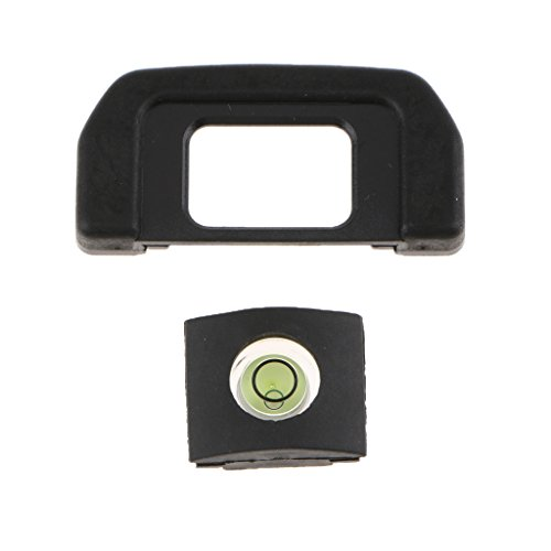 (kesoto Unique Designed Viewfinder Eyecup Eyepiece with Spirit Level for Nikon D7500 - Prevent Scratching The Eye Mask)