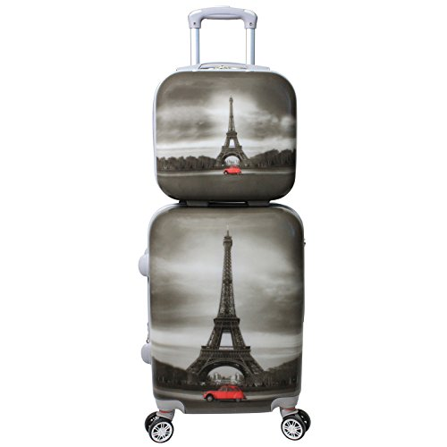 World Traveler Destination Collection 2-Piece, Paris by World Traveler