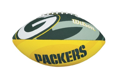 Wilson NFL  Junior Team Logo Football (Green Bay Packers)