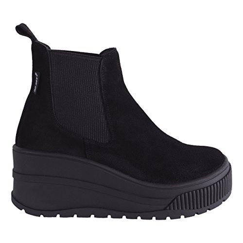 Go Sexy WoMen Survive Chelsea Boots Black