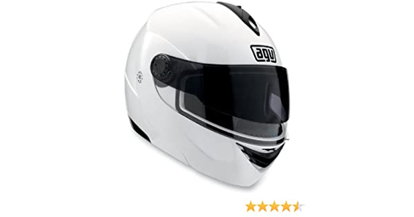 Amazon.com: AGV Miglia 2 Modular Motorcycle Helmet (White, Large): Automotive