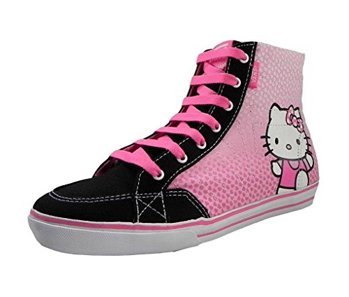 New Vans Corrie Hi Top Hello Kitty Girls Shoes (6.0)