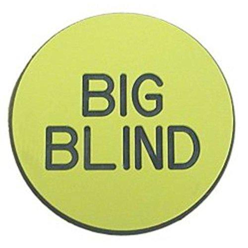 Trademark Button Blind Game Big Poker for Poker UrfUqwF