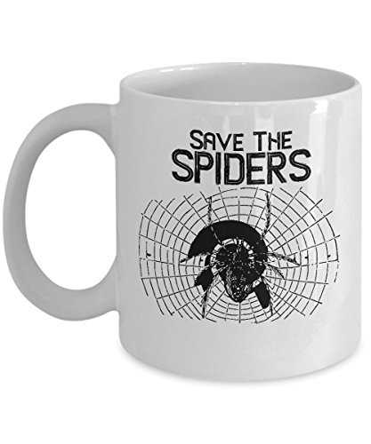 Halloween Save Spiders Web Costume Mug