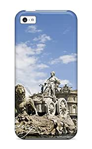 5948879K69268708 Iphone 5c Well-designed Hard Case Cover Madrid City Protector
