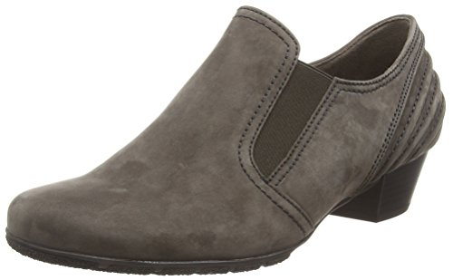 Gabor Shoes Basic, Botines para Mujer Gris (anthrazit 19)