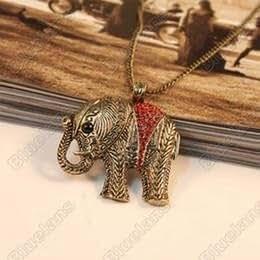 Diseño de moda Mini colgante de elefante