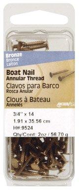 Philstone 9527 1-1/2'' Bronze Boat Nail by Hillman
