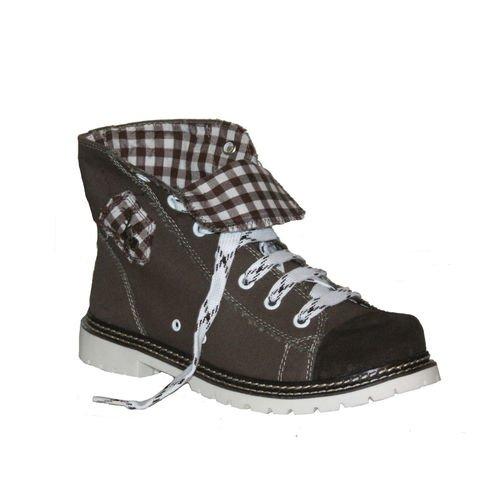 Trachten Herren Sneaker - JACK - braun/ruß/d-braun, Größe 42