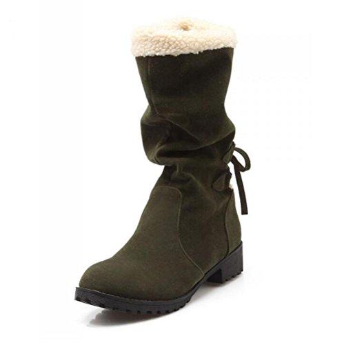 Rough Tacco Artificiale In Grandi 43 Dimensioni 40 Mantenere A Knight Caldi Stivali Delle Donne Heel Basso Cotone Cashmere Xuexzix Merletti Boots OxYZvwnt