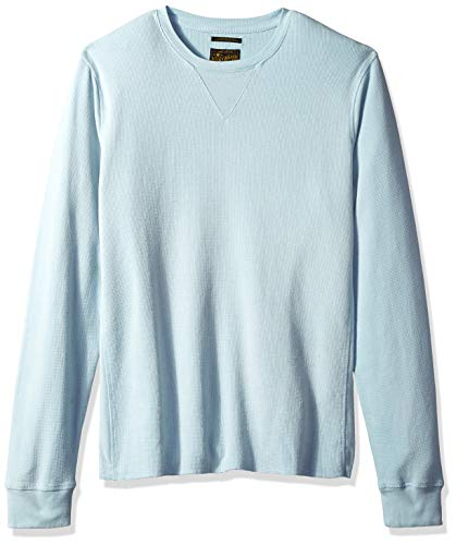 - Lucky Brand Men's Colorado Cross Stitch Crew Neck Shirt, Spring Blue, S