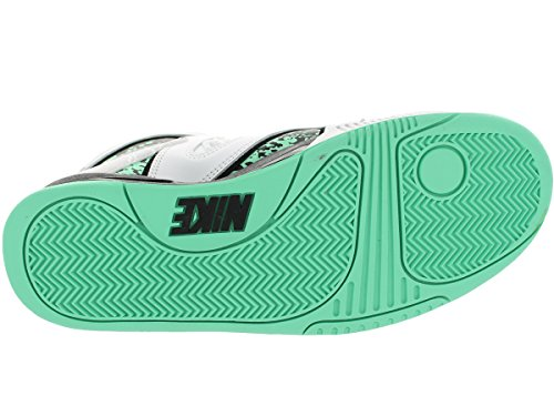 Nike Hombres de Air Tech Challenge palo QS Zapatillas de tenis White/Green Glow/Wolf Grey/Ice