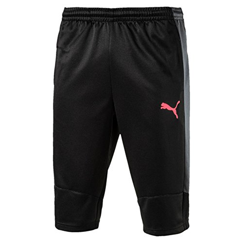 Puma 3/4 Pant - PUMA  Men's Evotrg 3/4 Pants Puma Black/Ebony/Fiery Coral Pants