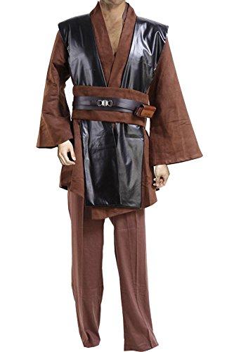 star wars anakin skywalker jedi robe costume