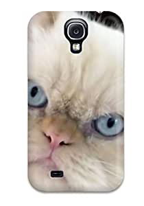 5284921K84758035 Hard Plastic Galaxy S4 Case Back Cover,hot Persian Cats Case At Perfect Diy