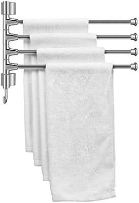 Amazon.com: flexzion toallero de barra 14 inch con 4-bar ...