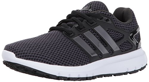 adidas Women's Energy Cloud w Running Shoe, Utility Black/Trace Grey/Black, 6 Medium US