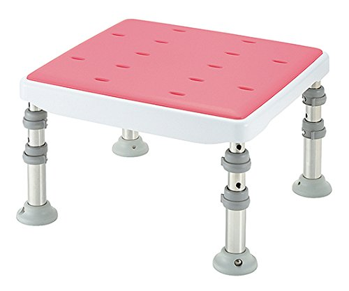 リッチェル7-1844-01浴そう台高さ調節付(コンパクト)やわらかピンク   B07BD3DMPN
