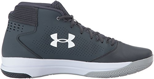 Under Armour Herren Jet 2017 Stealth Grey / Stealth Grey / Weiß