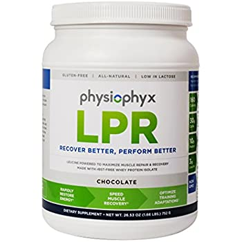 PhysioPhyx LPR Premium Endurance Recovery Formula - Grass Fed Whey Protein Isolate - Muscle Repair and Recovery - Athlete Tested, Athlete Approved ...