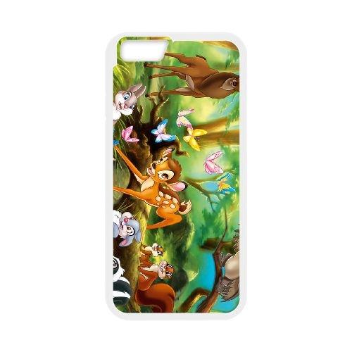 Bambi 018 coque iPhone 6 Plus 5.5 Inch cellulaire cas coque de téléphone cas blanche couverture de téléphone portable EOKXLLNCD26208