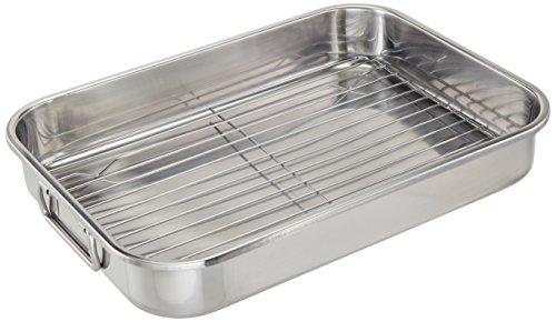 ExcelSteel 593 Roasting Pan, Stainless