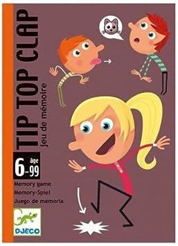 Djeco Juego Infantil de Cartas Tip Top Clap Juego de Memoria. Niños Mayores de 6 años: Amazon.es: Juguetes y juegos
