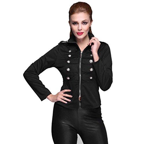 SFY New Fashion Women's Long Sleeve Coat Jacket Zipper Hoodies Outwear
