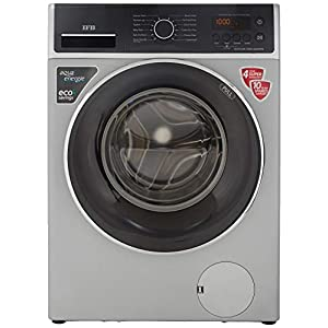 IFB 7 Kg 5 Star Fully-Automatic Front Loading Washing Machine (ELITE ZXS, Silver, Fitness Wear,Anti-Allergen,3D Wash…