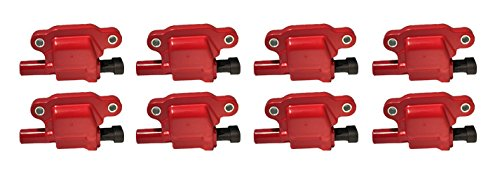 Amazon.com: REV Ignition GM 05-14 Square Style 12611424 High Performance Ignition Coil Set of 8 RD1007R: Automotive