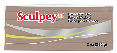 Sculpey III Polymer Clay 8 Ounces-Hazelnut