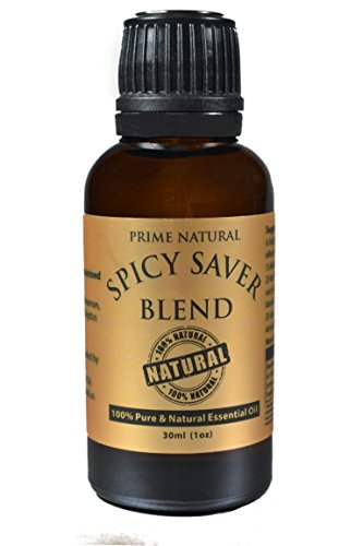 Spicy-Saver-Essential-Oil-Blend-30ml-Healthy-Immunity-Protective-Blend-Natural-Pure-and-Undiluted-Therapeutic-Grade-for-Aromatherapy-Scents-Diffuser-Sinus-Dry-Nose-Allergy-Respiratory-Problems