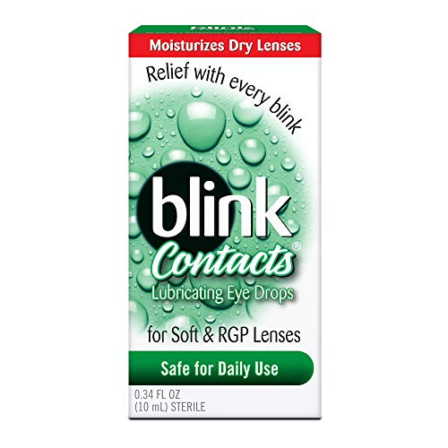 Amo Blink Contacts Lubricating Eye Drops, 2 Count (Walking Dead Contact Lenses)