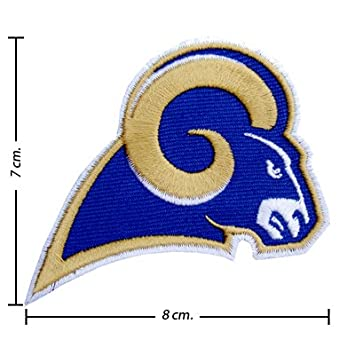 Amazon Nfl Stlouis Rams Style 1 Embroidered Iron On Patch
