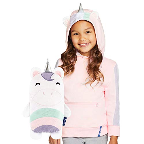 Cubcoats Uki The Unicorn - 2-in-1 Transforming Hoodie & Soft Plushie
